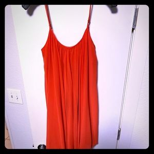 NWOT Gianni Orange Dress
